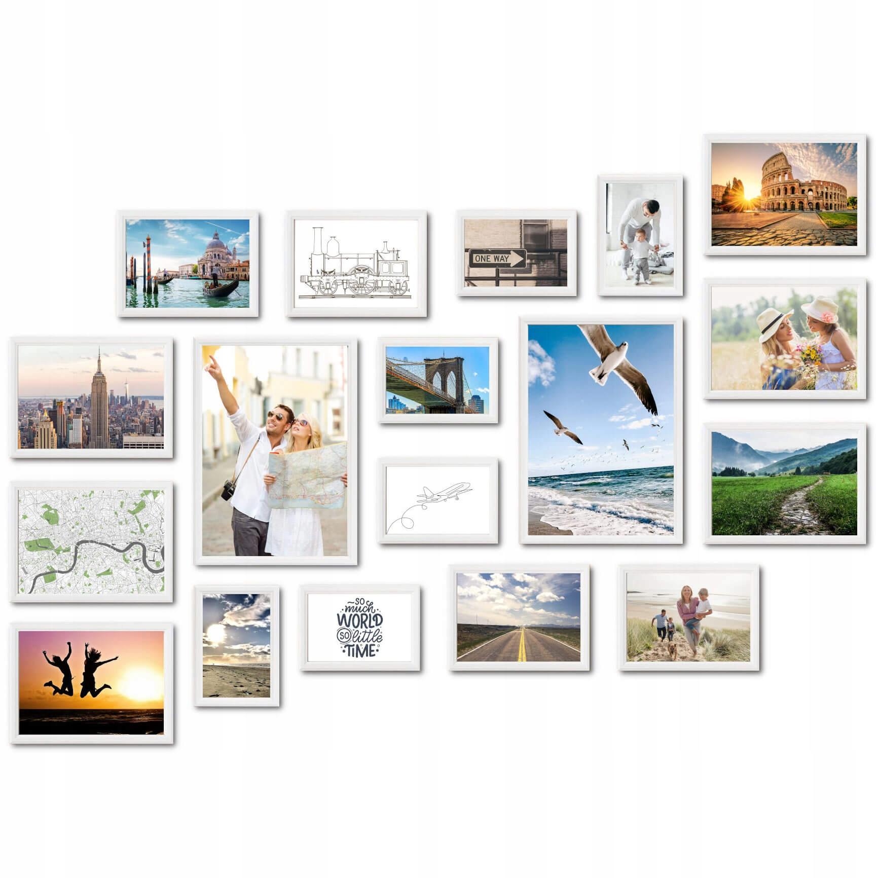 Zestaw Ramek Foto Galeria Multirama na Zdjęcia