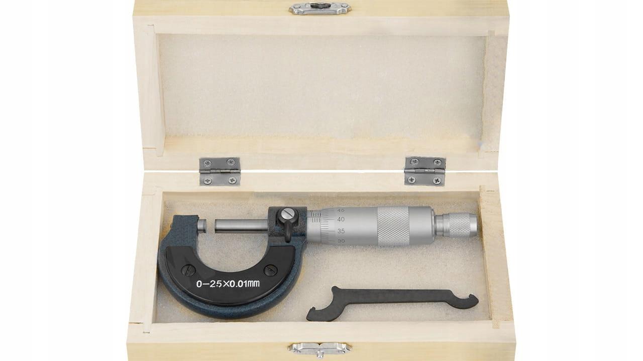 Mikrometr mikromierz zewnętrzny 0- 25mm / 0.01mm