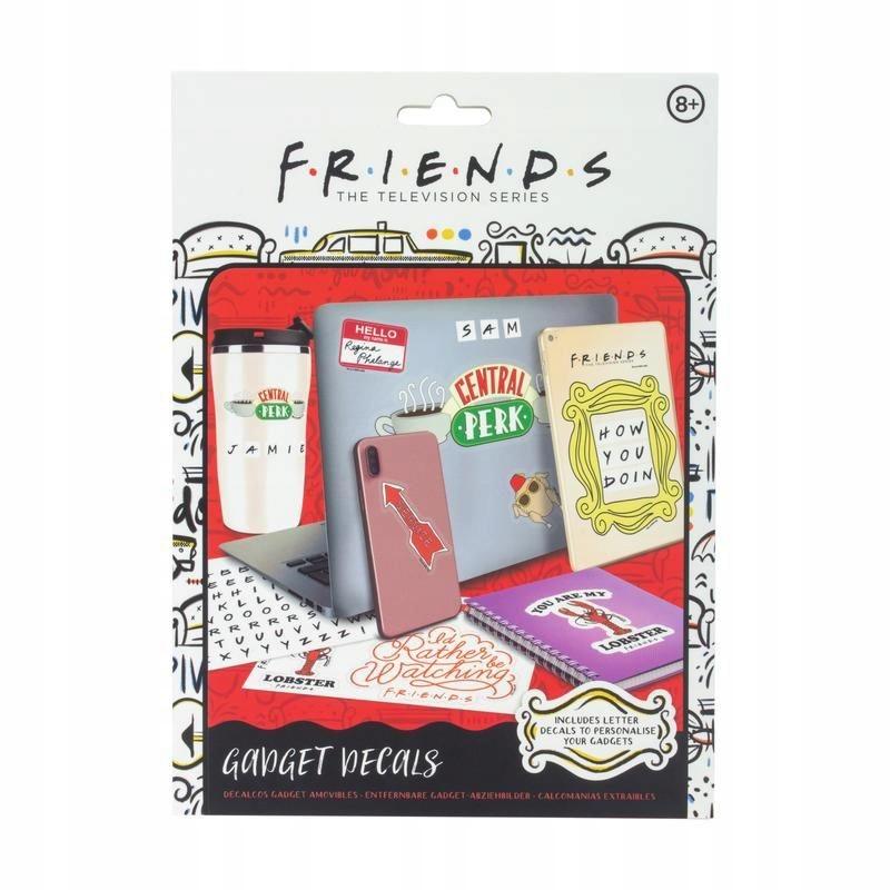 Item FRIENDS FRIENDS STICKERS-FOR LAPTOP TABLET