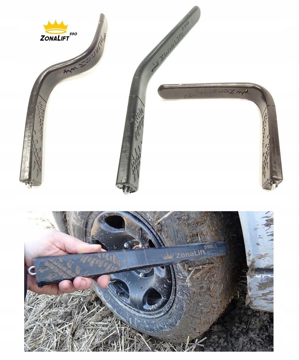 Палка для удаления грязи с колесных арок внедорожника 4x4