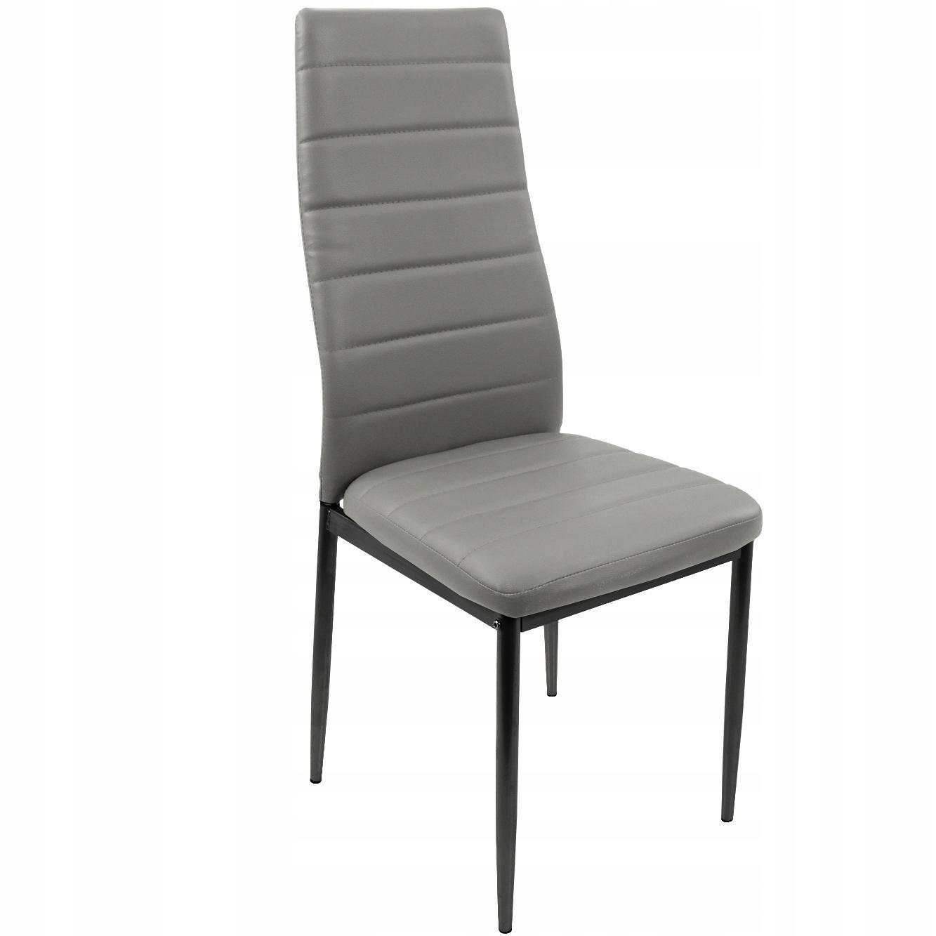 Komplet 4 nowoczesne Krzesła KUCHENNE industrialne