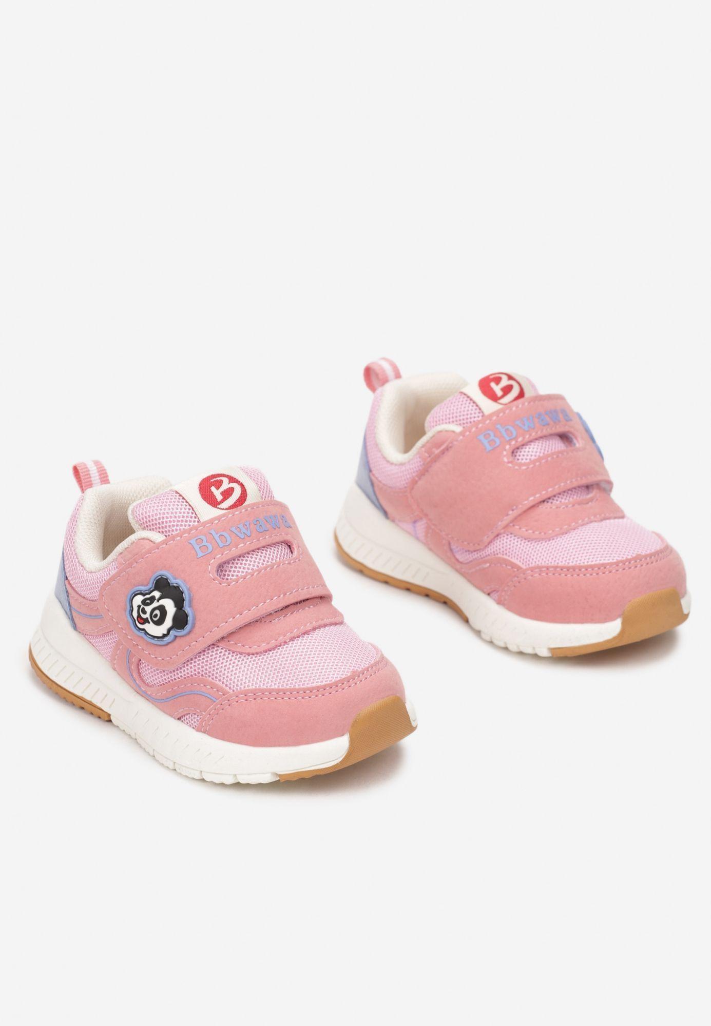 Różowe Buty Sportowe 25
