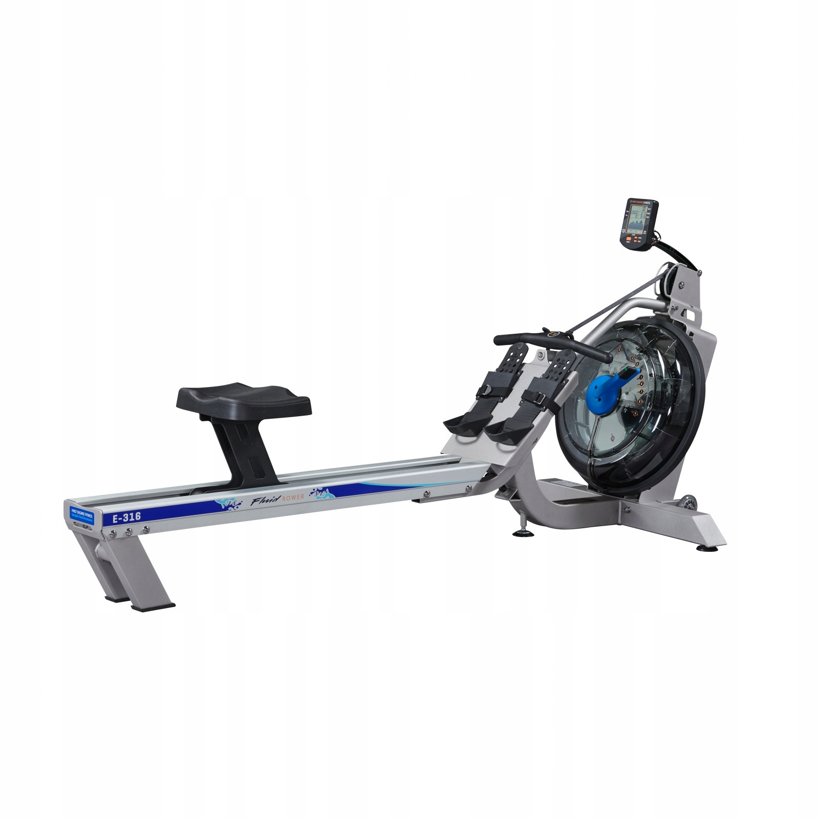 ROY ROWER Prvý titul Fluid Bike E316