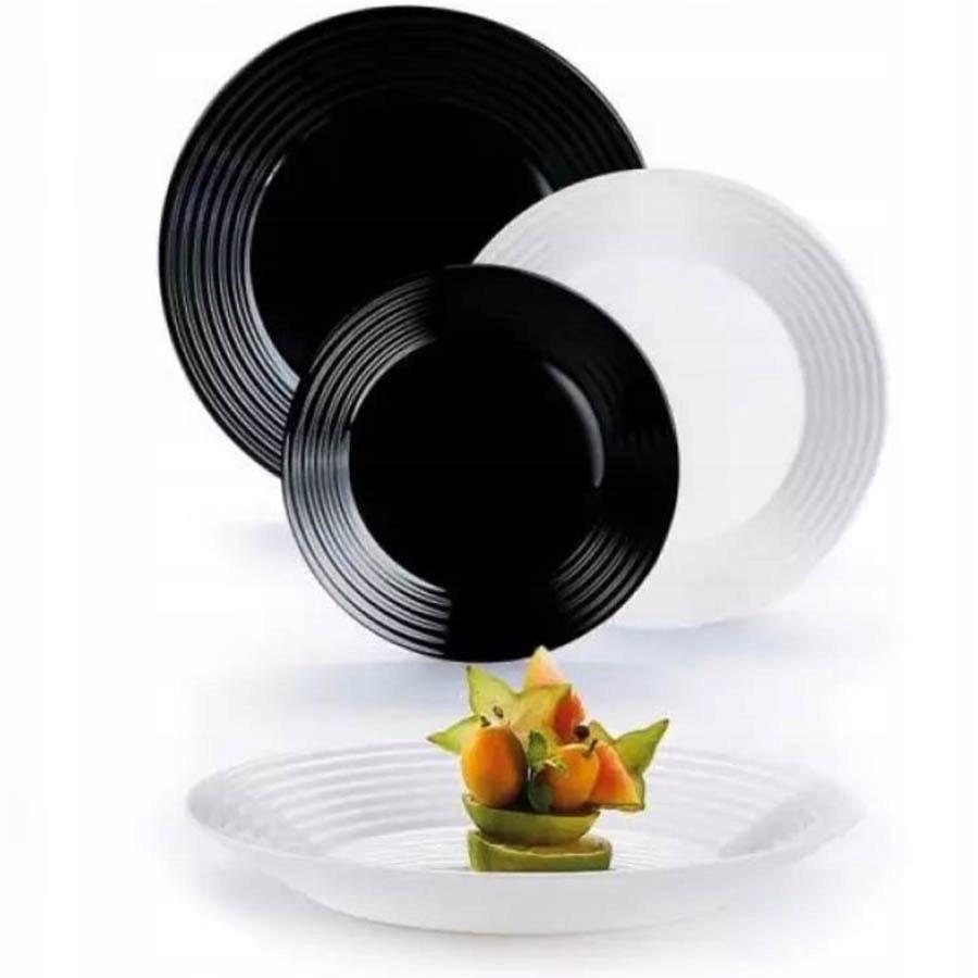 Harena Luminarc набор посуды 18 предм., Ч / б на 6 персон