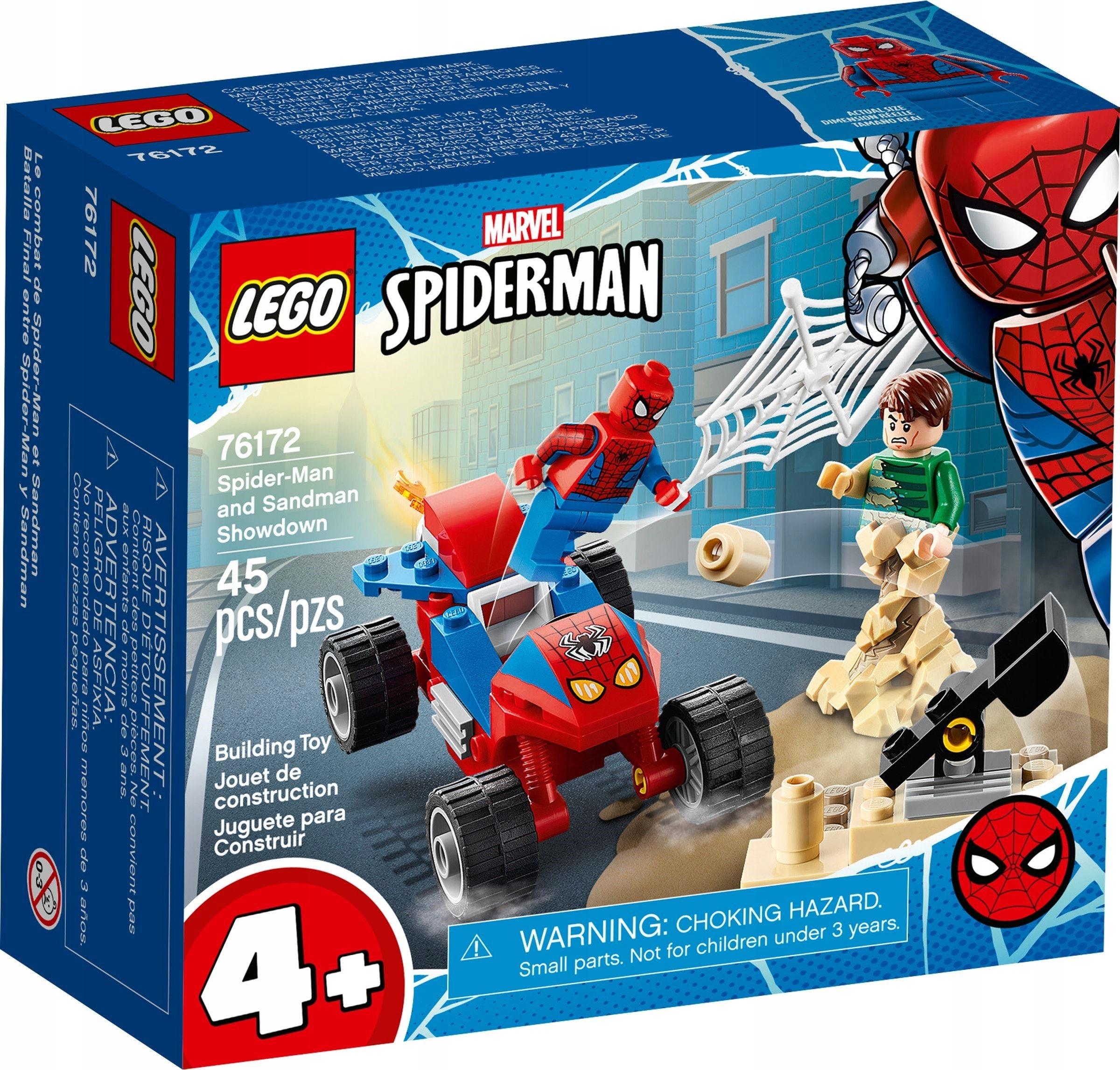 LEGO MARVEL SPIDER MAN Pojedynek z Sandmanem 76172