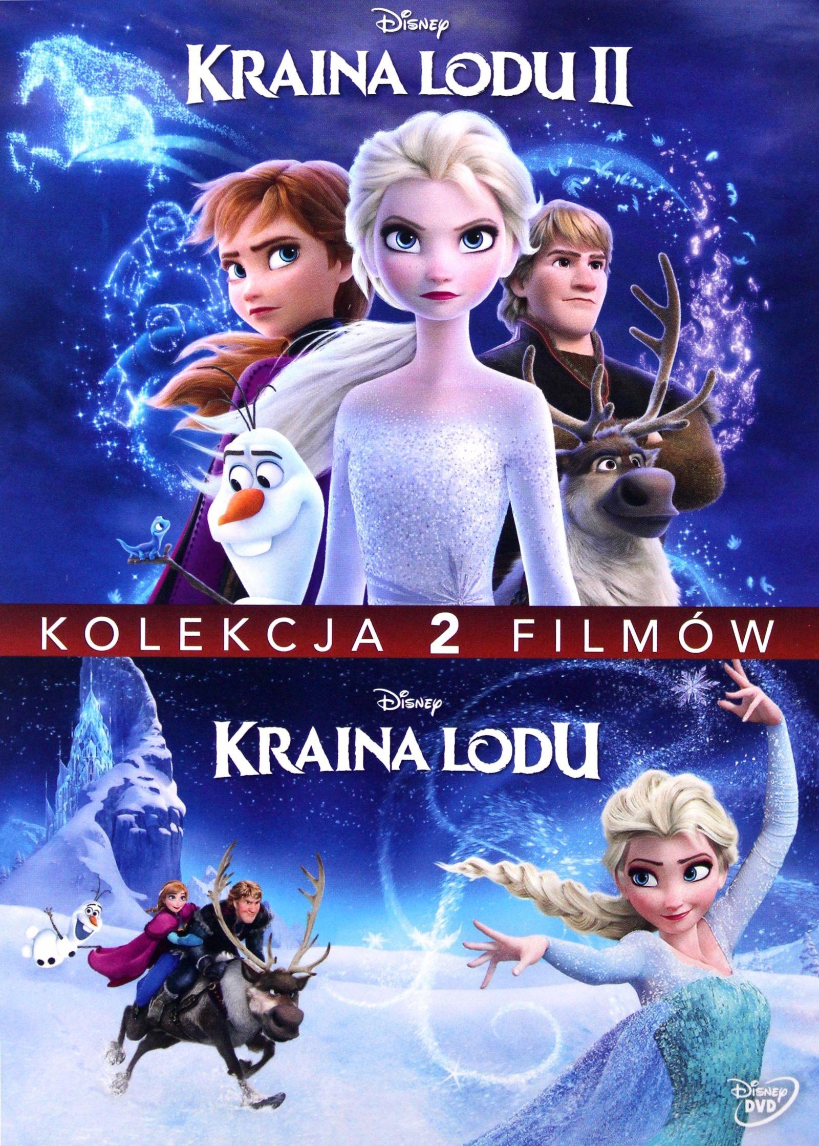 KRAINA LODU 1 2 DISNEY  BOX  DVD