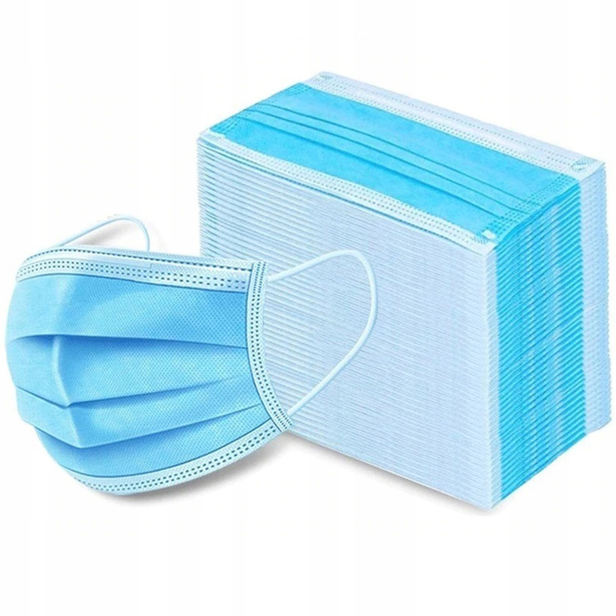MASK PROTECTIVE SURGICAL MASK 3IN 100 штук