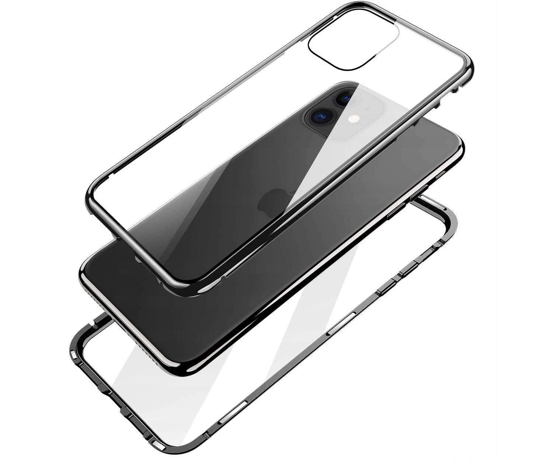 Etui Magnetyczne 360° do iPhone 12 Mini Kolor czarny