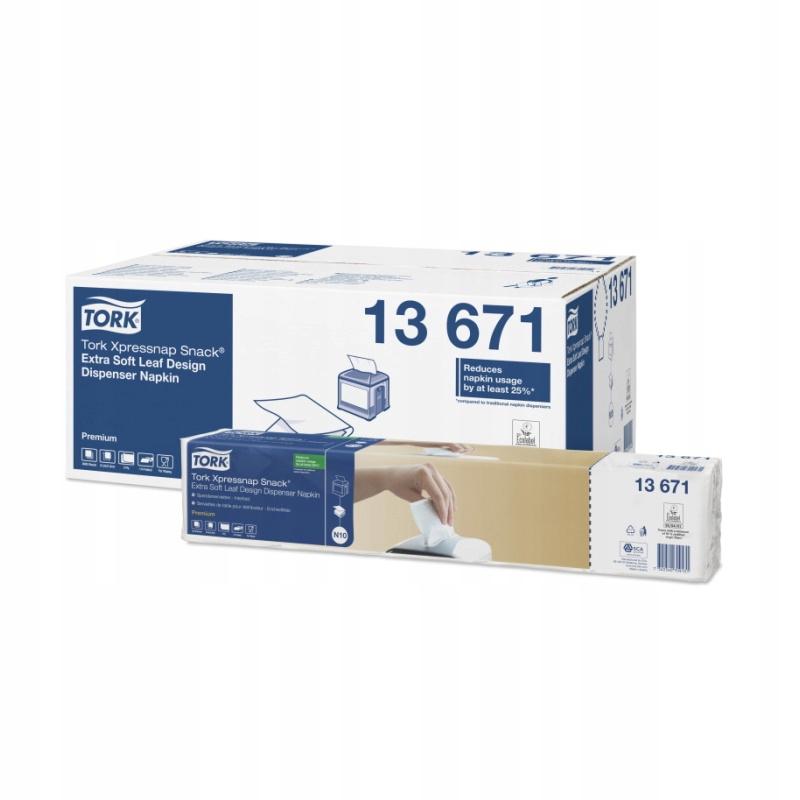 Tork 13671 Экстра-мягкие диспансерные салфетки N10