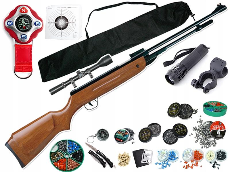 KANDAR WIATRÓWKA B3 4,5 mm TYTAN Magnum ZESTAW
