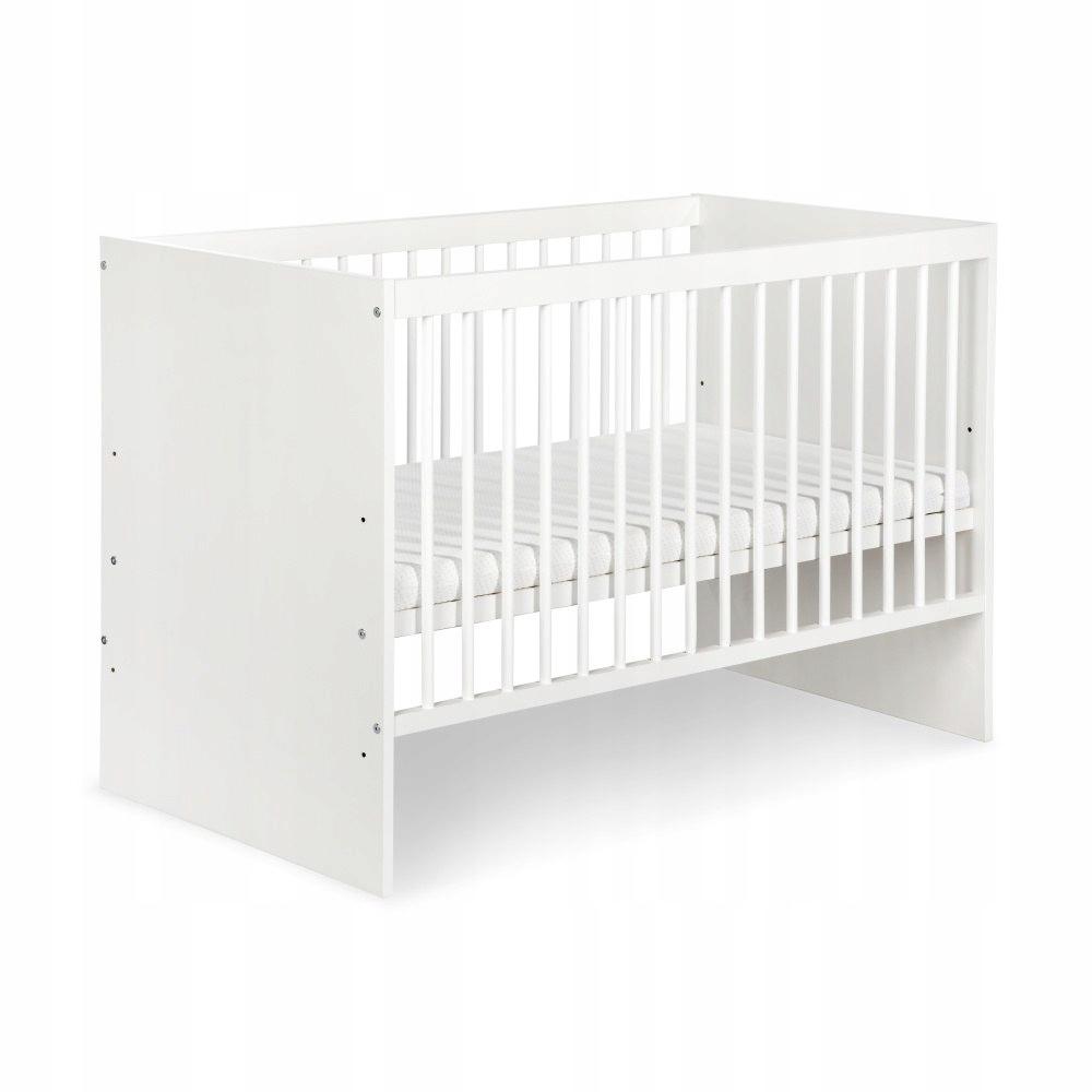 KLUP Детская кроватка KAROLINA I white
