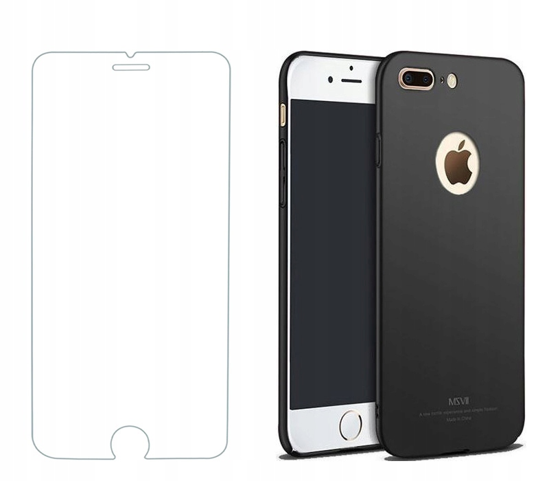 Oryginalne Etui MSVII + Szkło do iPhone 7 / 8 Plus