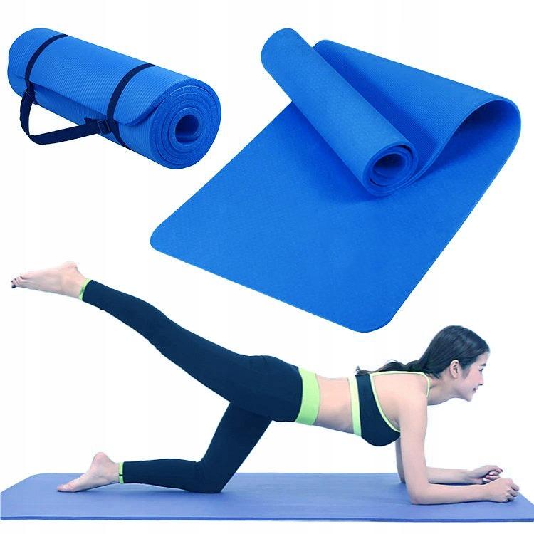 Mata do ćwiczeń fitness jogi antypoślizg karimata