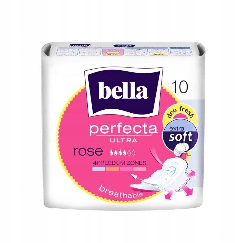 Podpaski Bella Perfecta Ultra Rose 10 szt.