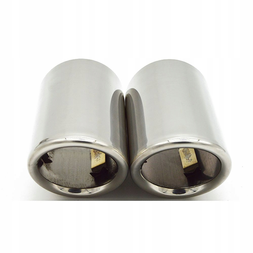 2 наконечники выдохе накладки к vw cc audi