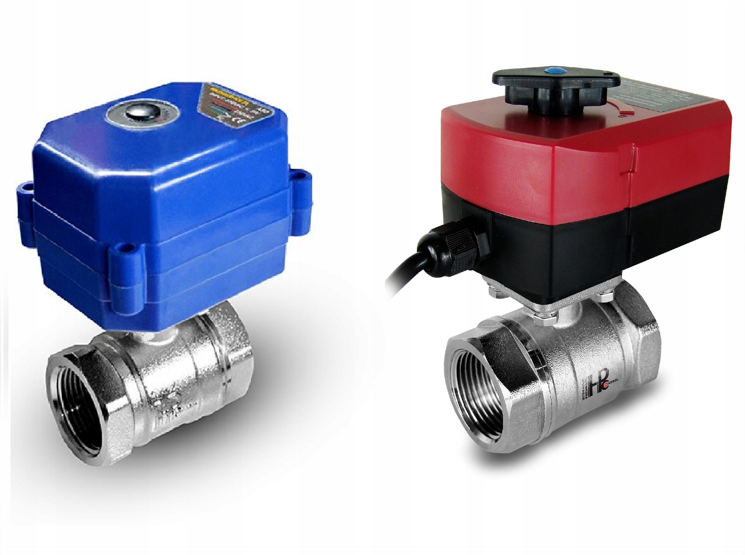 Электроклапан шаровой 3 /4 DN20 с моторизованным приводом