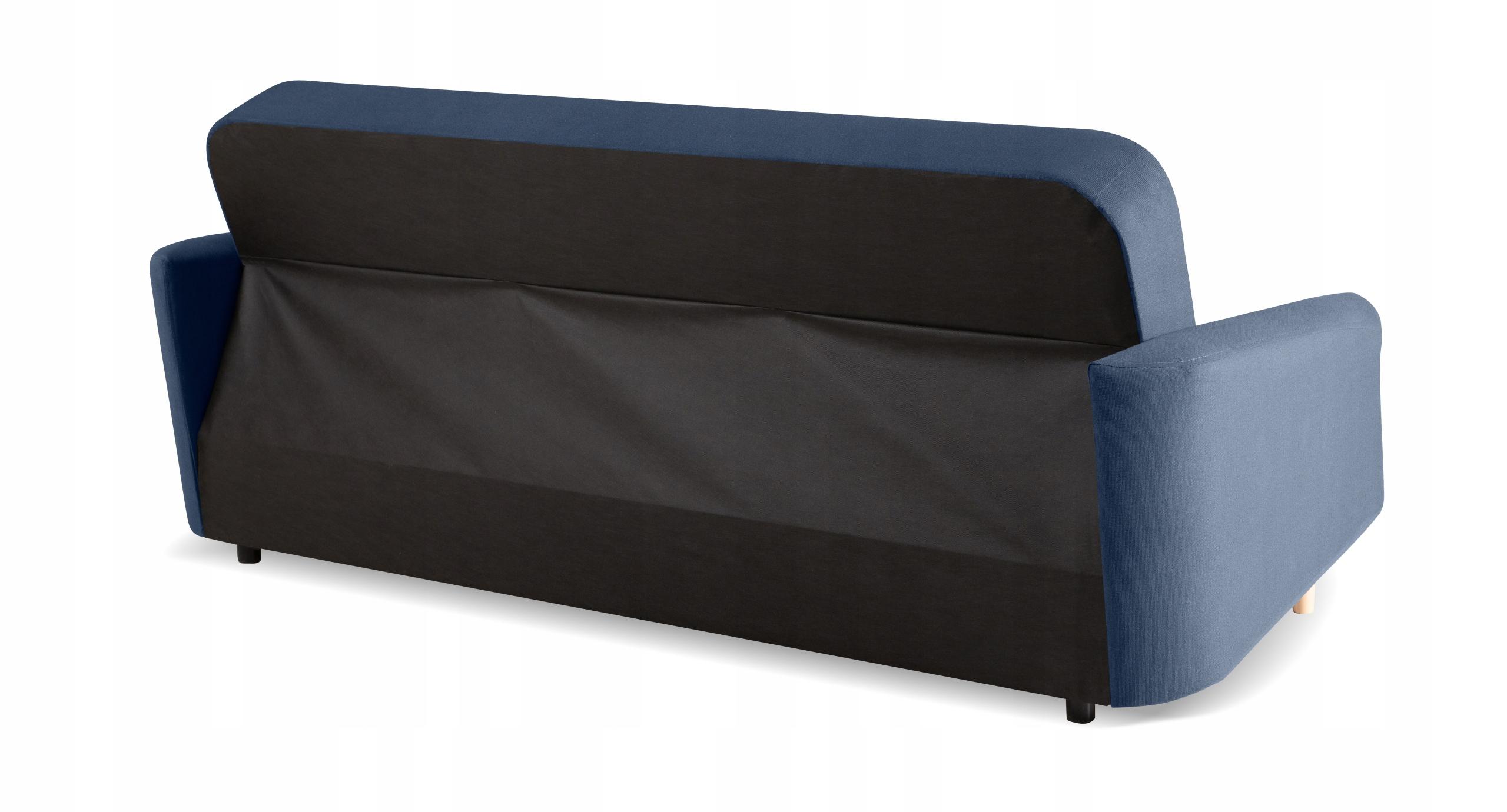 Bequemes Schlafsofa DIXI f. Schlaf - Farben - Holz Zusätzliche Informationen Schlaffunktion Armlehnen Bettwäschecontainer