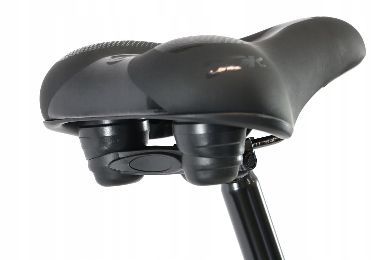 ROWER TREKKINGOWY DAMSKI MĘSKI SHIMANO 28 ALU Wyposażenie dodatkowe bagażnik błotniki dzwonek oświetlenie pompka stopka osłona łańcucha