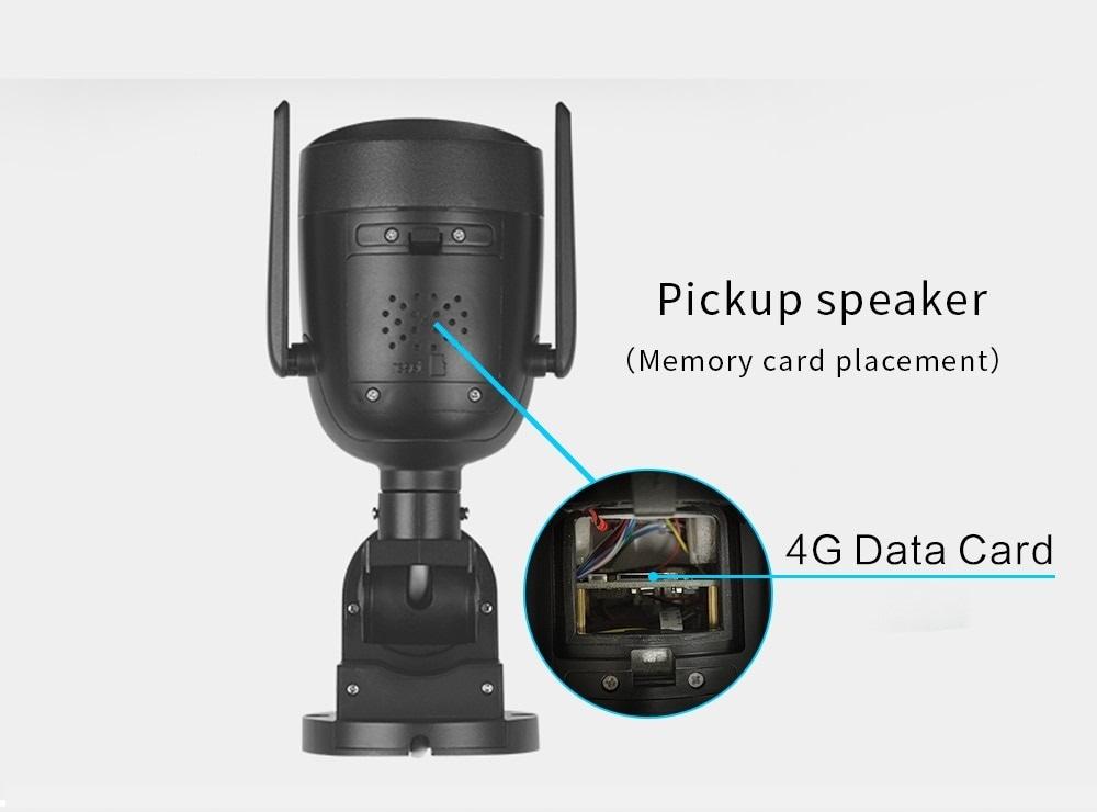 Kamera Obrotowa GSM 4G SIM LTE 5MPx SONY Tracking Rozdzielczość 5 Mpx