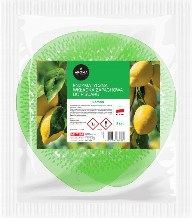 Enzymatyczne wkładki do pisuaru Zapachowe Świeżość