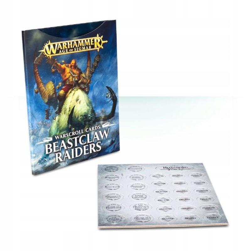 Warcroll Cards: Beastclaw Raiders