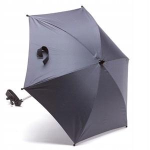 Dáždnik do kočíka UV50 tmavo šedá TITANIUM BABY