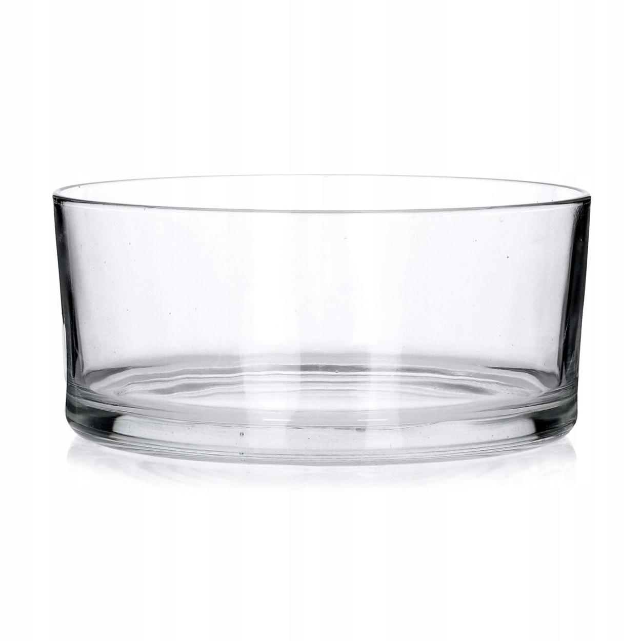 Salaterka szklana 200MM EDWANEX [222/20]