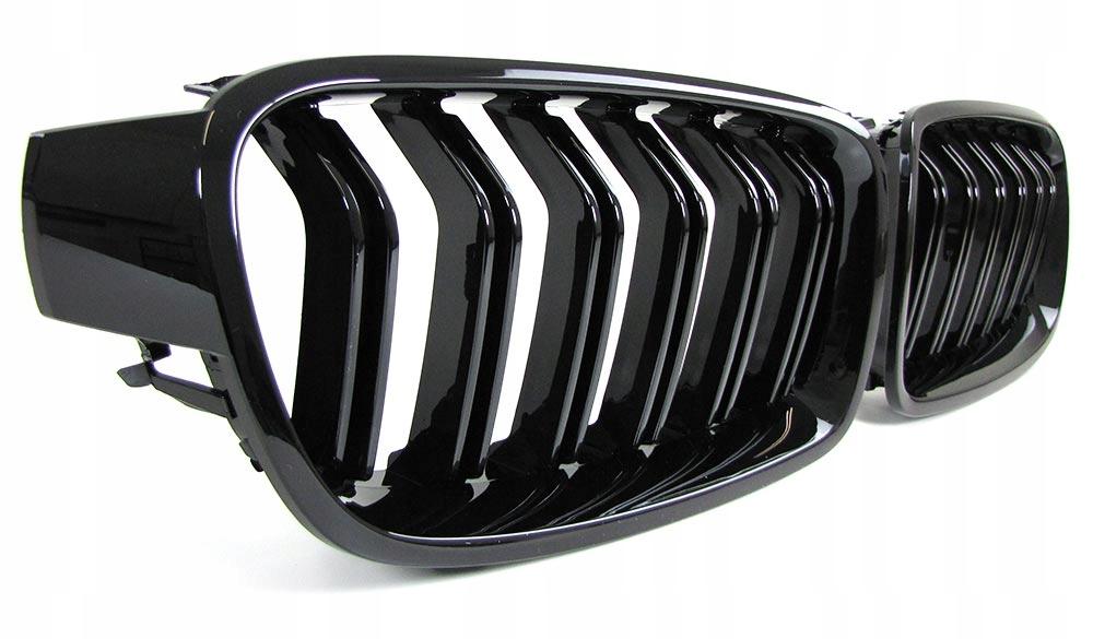 гриль почки решетка bmw f30 f31 черный блеск