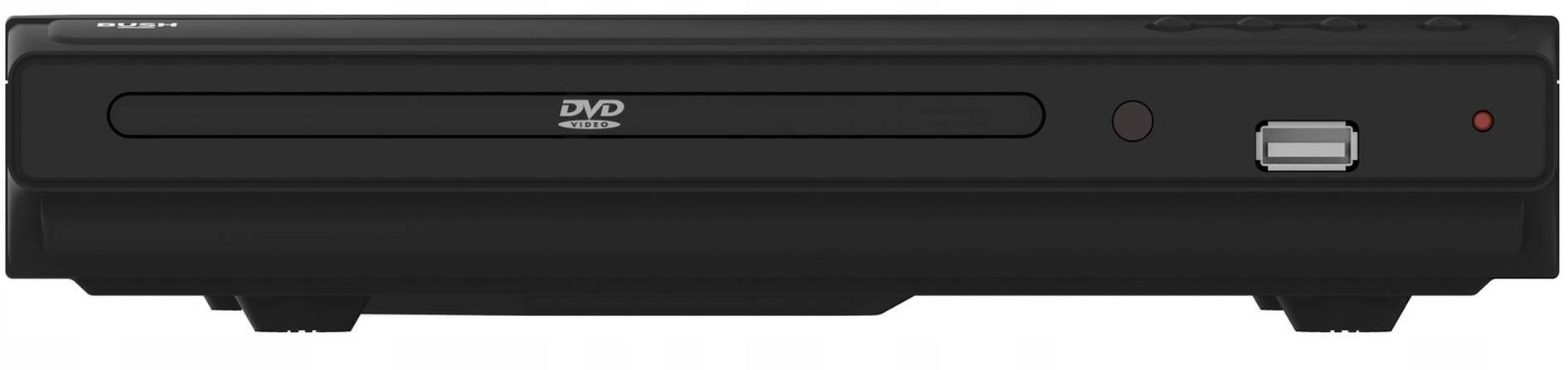 ODTWARZACZ DVD BUSH 2 KOLORY WYŚWIETLACZ USB G1/G2 Formaty obrazu DVD-Video