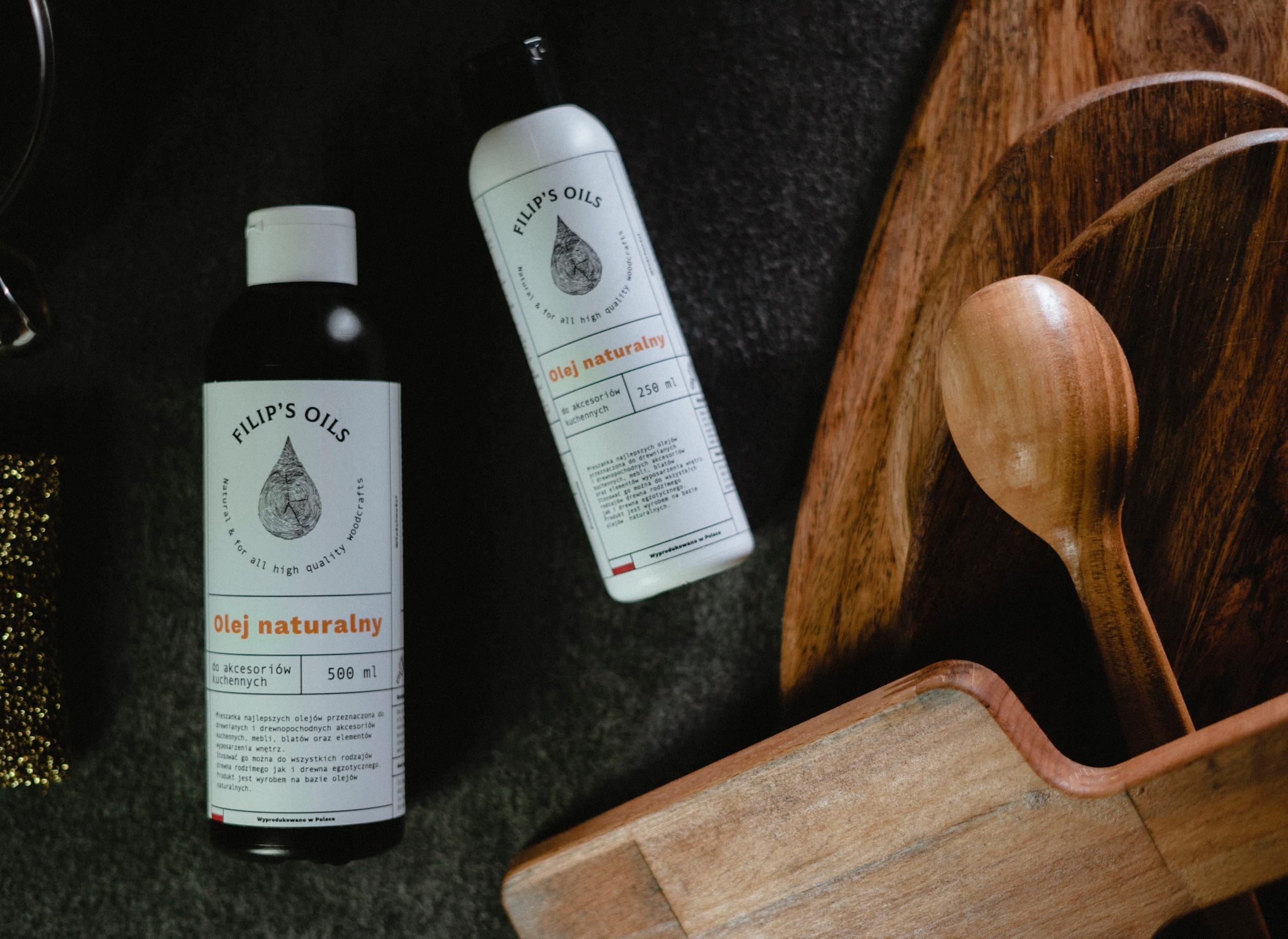 Масло для дерева - натуральное FILIP'S OILS 250ml