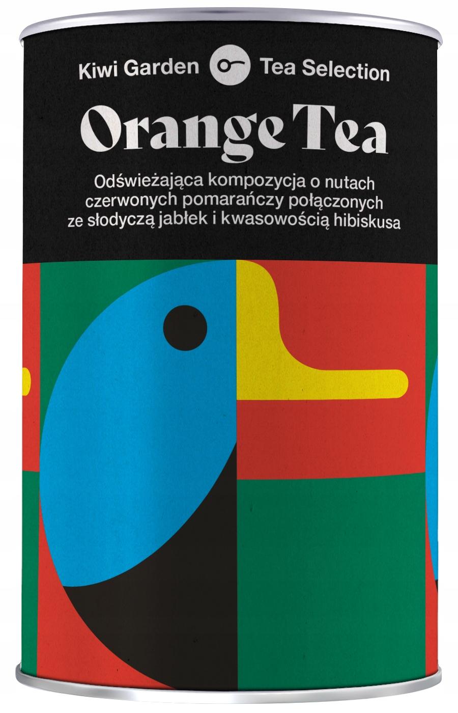 ФРУКТОВЫЙ ЧАЙ Настой KiwiGarden Orange 100г