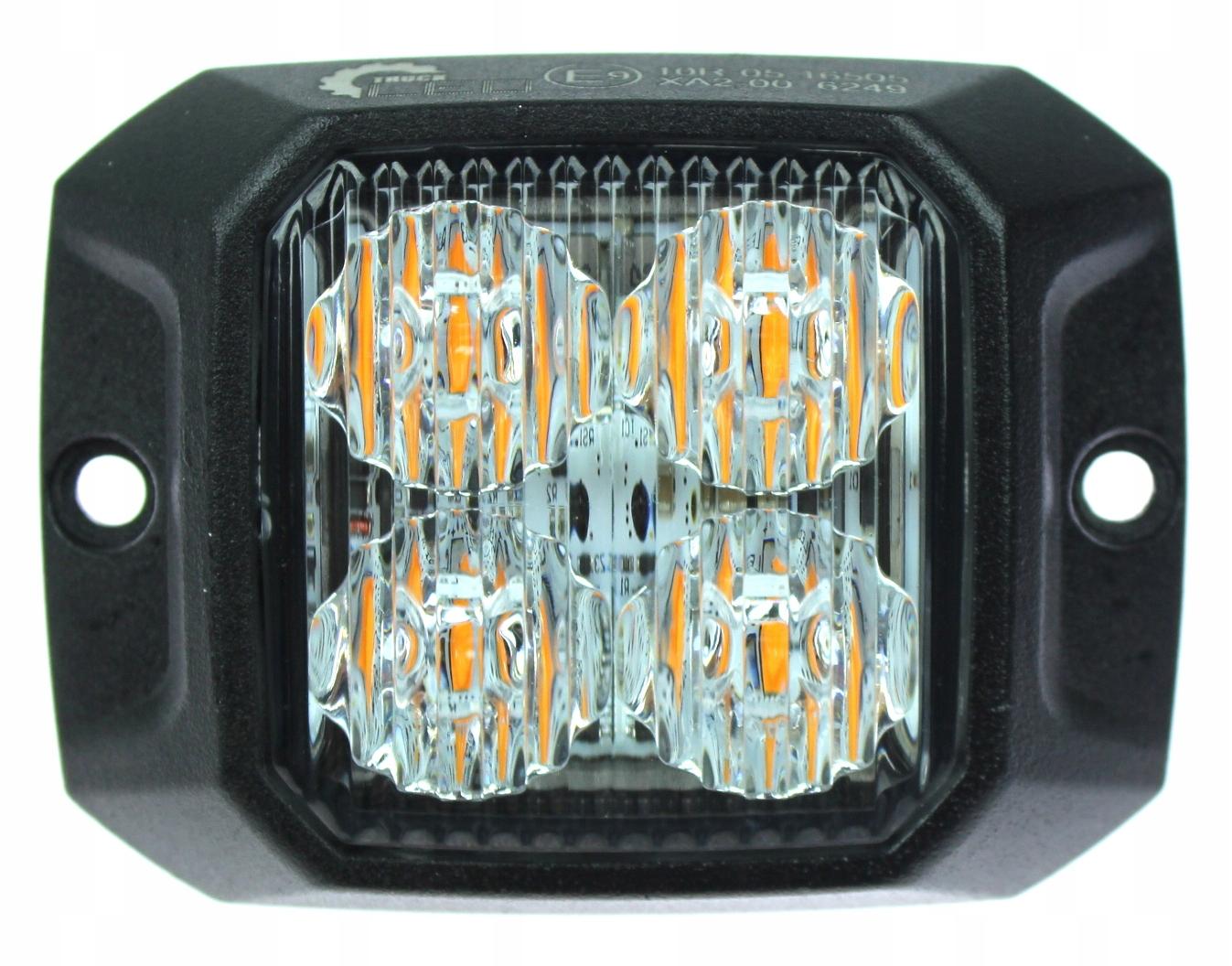 лампа предупреждения 4 led стробоскоп помощь эвакуатор
