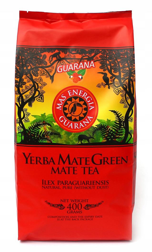 Yerba Mate Green MAS ENERGY GUARANA 400 г 0,4 кг