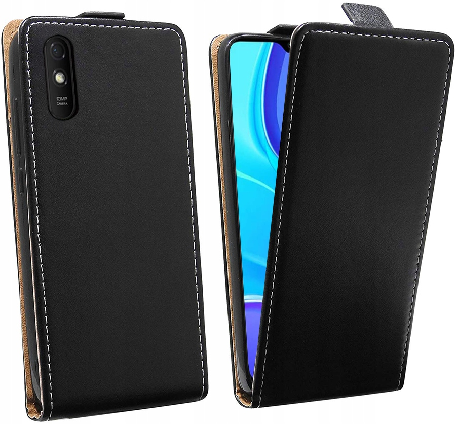 Etui do Xiaomi Redmi 9A Flexi Case + Szkło 9H