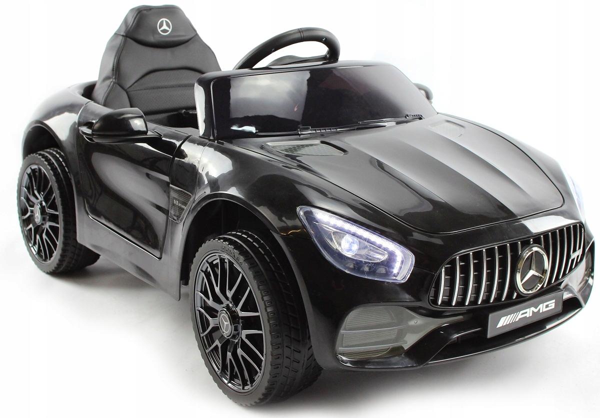 MERCEDES AMG GT Auto na akumulator 2G SKÓRA GUMA