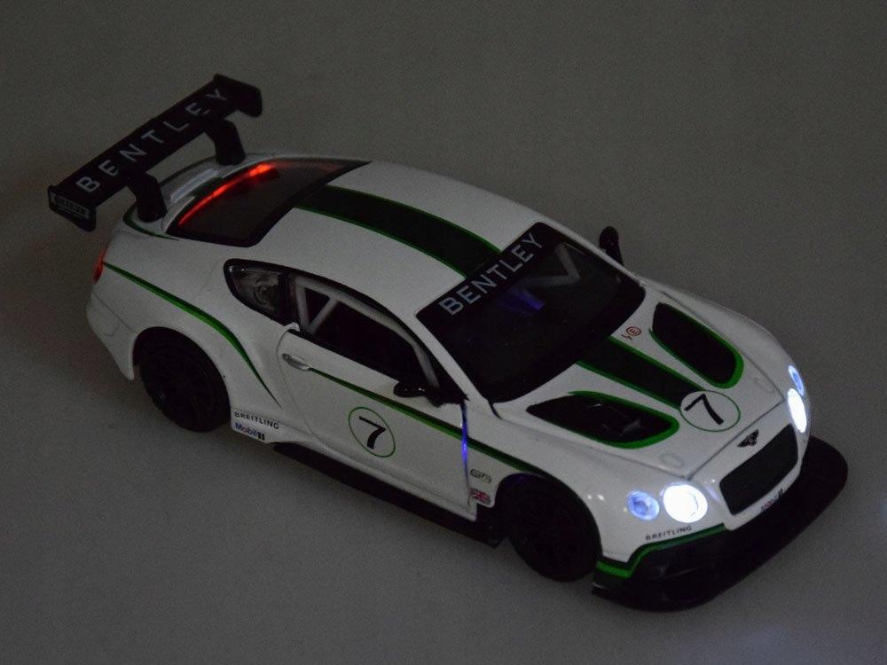 Sportowe auto Bentley 1:32 światło dźwięk ZA3142 Model inna