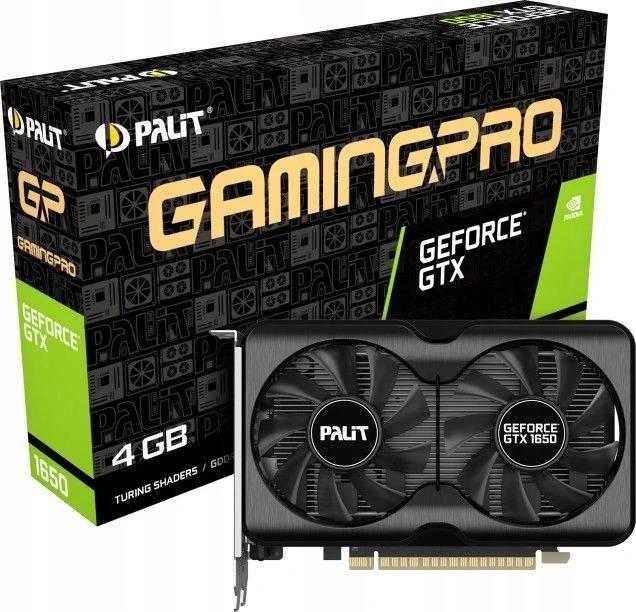 Karta Palit GTX 1650 GamingPro 4GB GDDR6 BOX