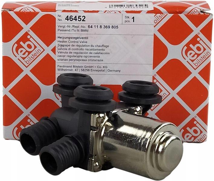 febi клапан нагревателя bmw 3 e46 5 e39 x3 e83