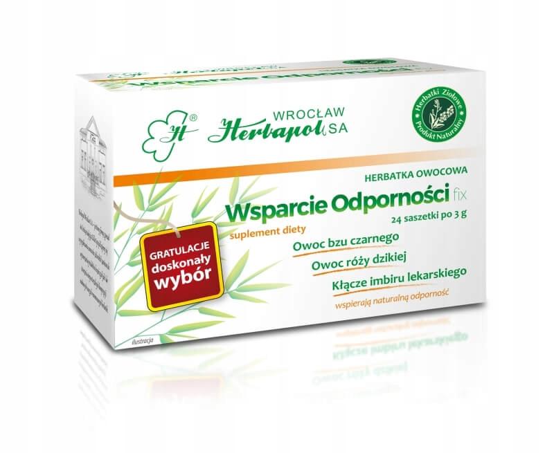 Herbata Ziołowa Herbapol Wsparcie Odporności 24x3g