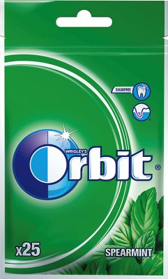 GUMA ORBIT WRIGLEYS SPEARMINT 25 SZT 35G BEZ CUKRU