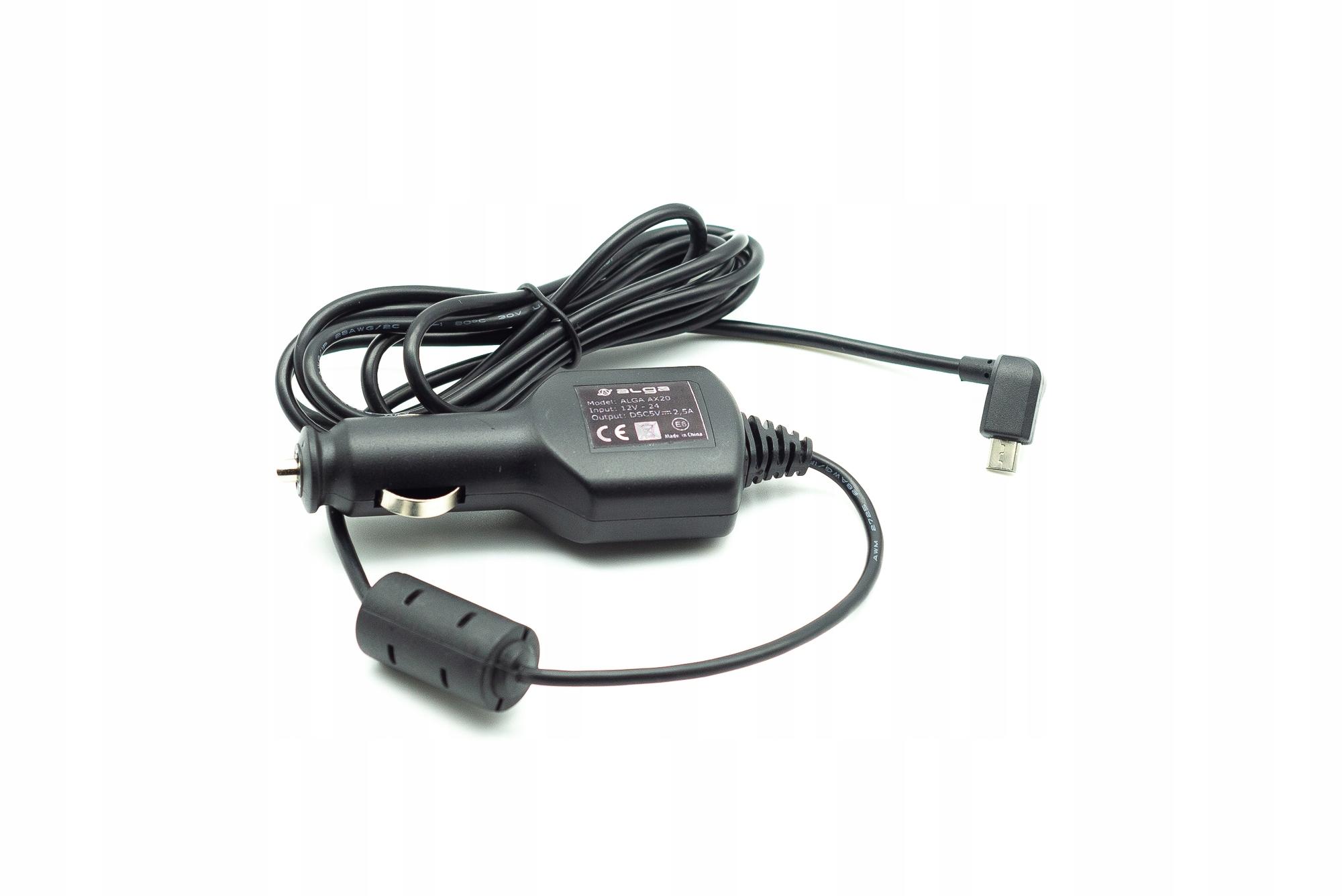 ŁADOWARKA SAMOCHODOWA Z FILTREM MICRO USB 5V 2.5A Przeznaczenie inny producent