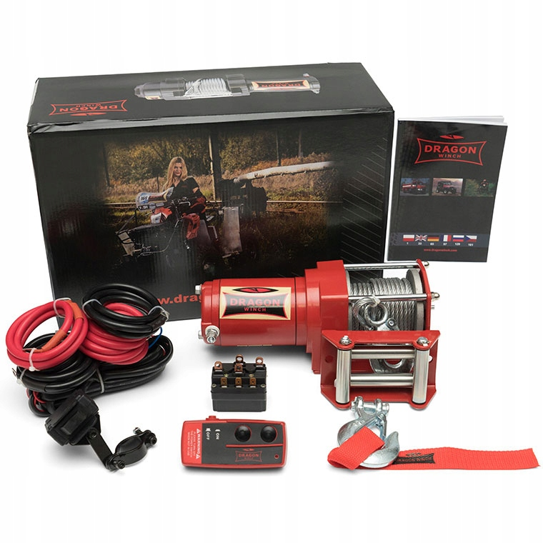 DRAGON WINCH DWM 2500ST ЛЕБЕДКА ДЛЯ QUAD KIT
