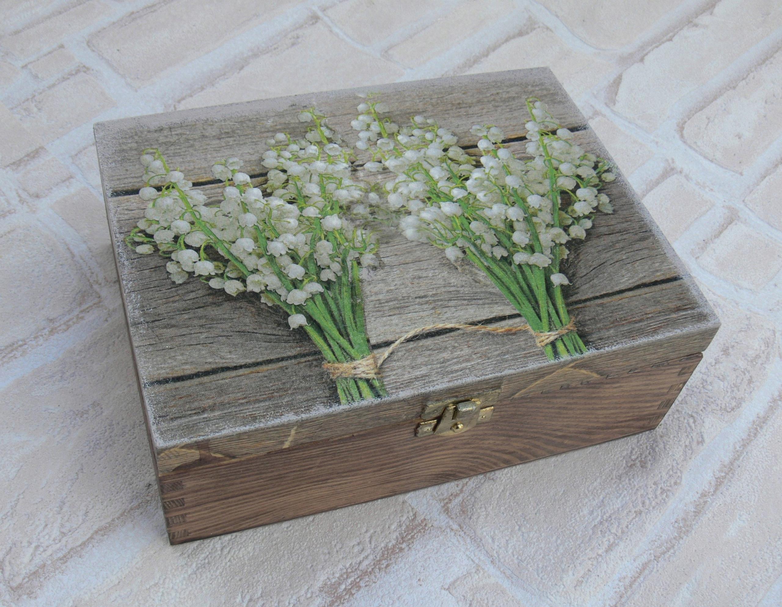 Darčekový personalizačný kufrík Konvalinka