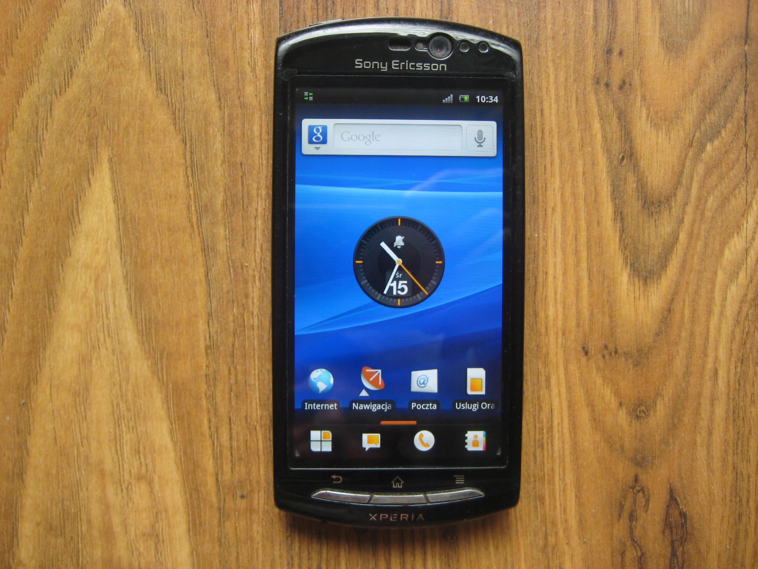 Sony Ericsson Xperia Neo V Bez Simlocka Real Foto 9171641987 Sklep Internetowy Agd Rtv Telefony Laptopy Allegro Pl
