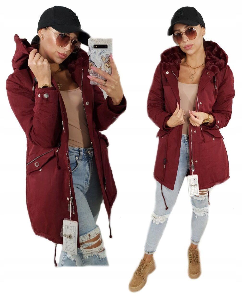 Теплая зимняя куртка женская PARKA 1501