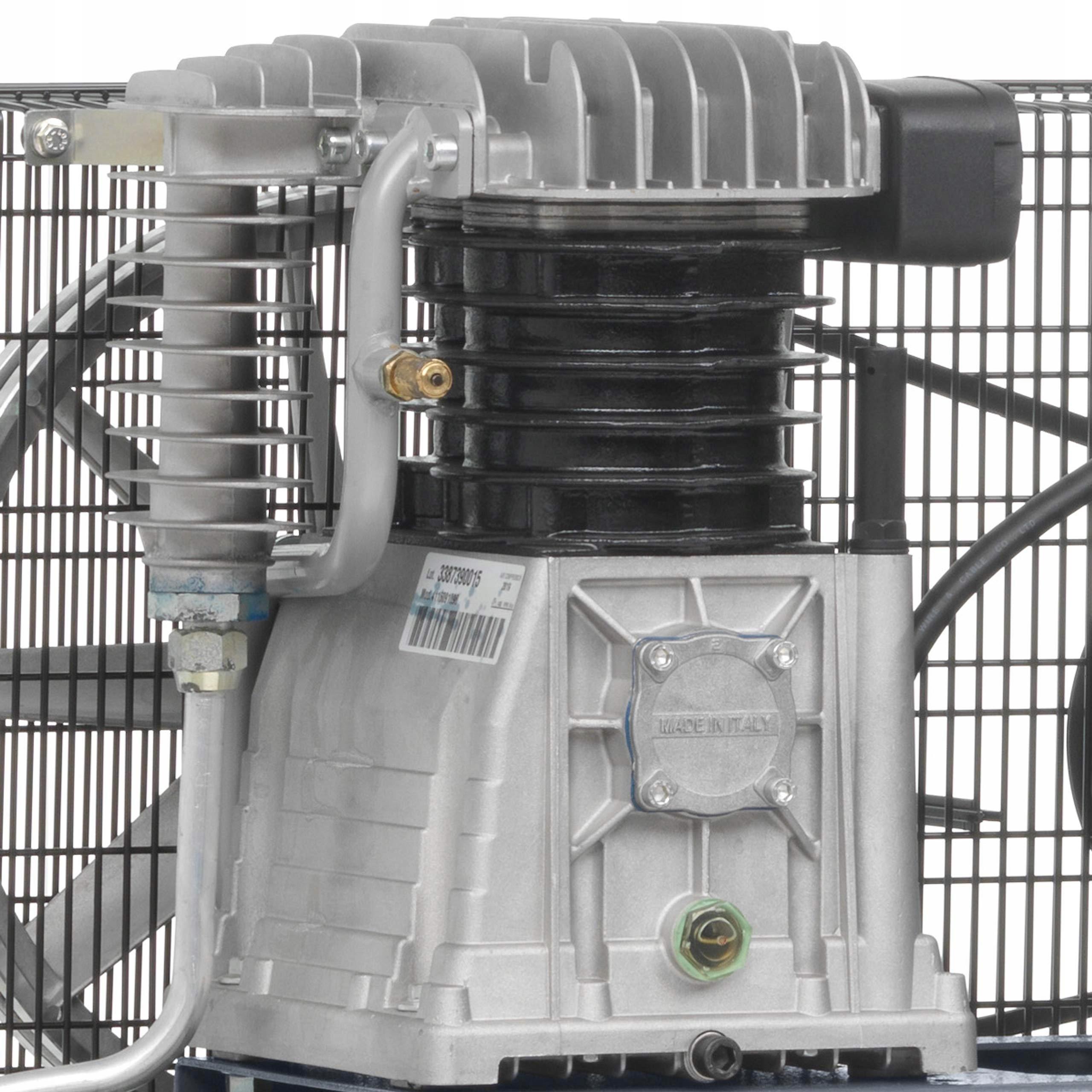 SPRĘŻARKA KOMPRESOR 300L ATLAS COPCO AC 40 E 300 T Układ zbiornika poziomy