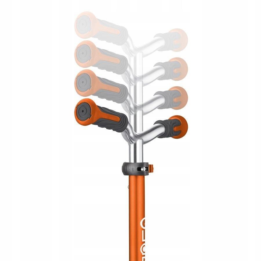 Hulajnoga 3-kołowa Globber Elite Prime Pomarańcz Koła Kauczukowe