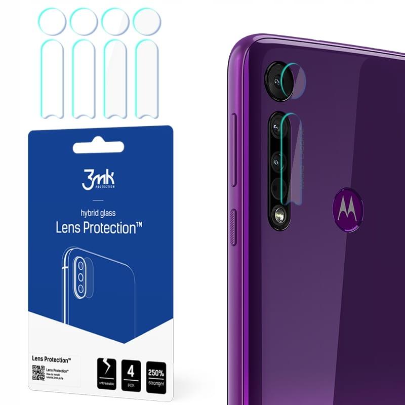 szkła hybrydowe obiektyw 3mk -- Motorola One Macro