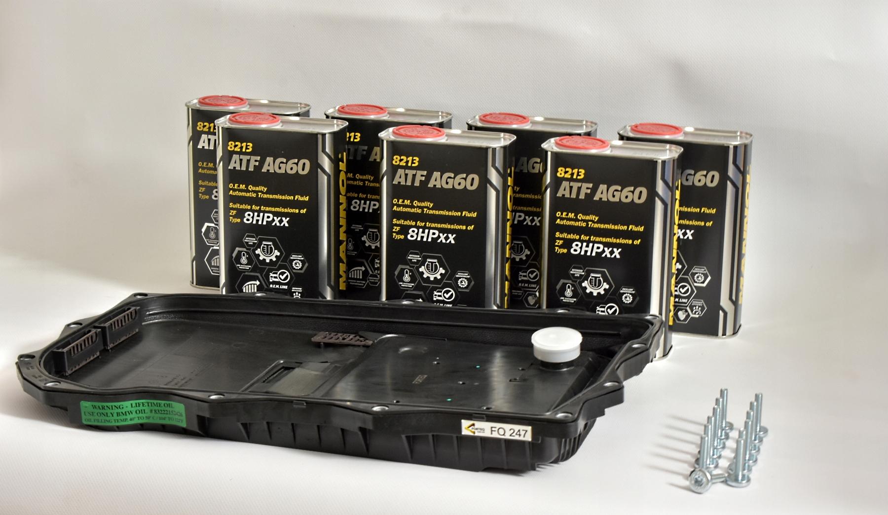 bmw 5 f10 zf 8hp комплект к обмен масла автомат