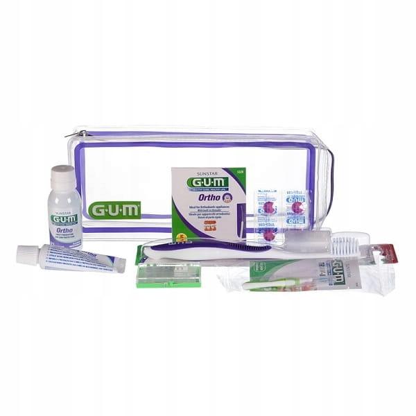 GUM Sunstar Ortho-Kit - zestaw ortodontyczny